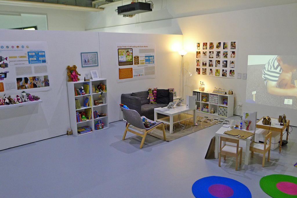 Exhibition setup